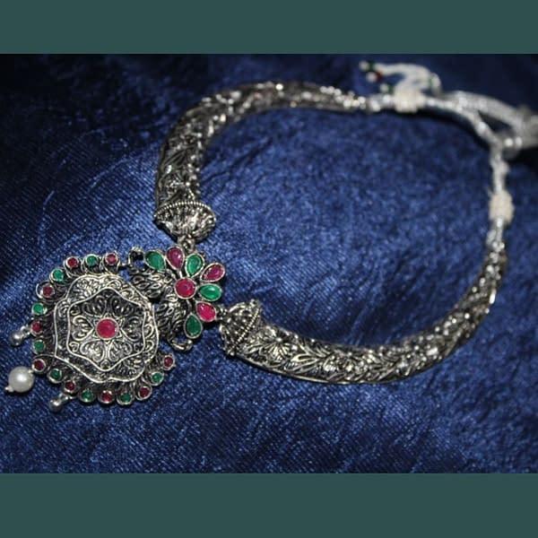 Handmade Stone Necklace set