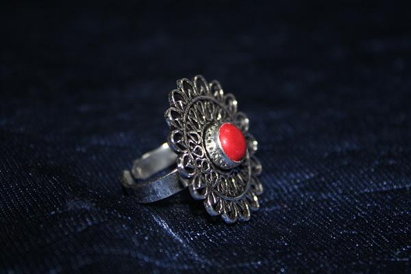 Handmade Stone Ring – Pink