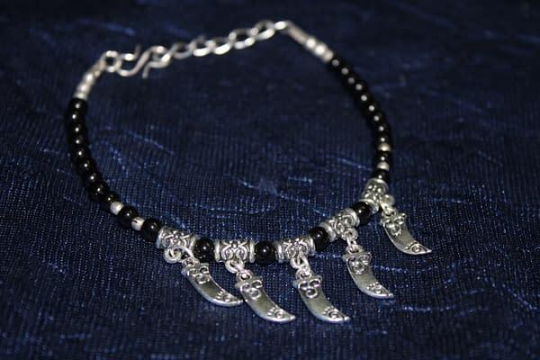 Handmade Talvaari Bracelet – Black
