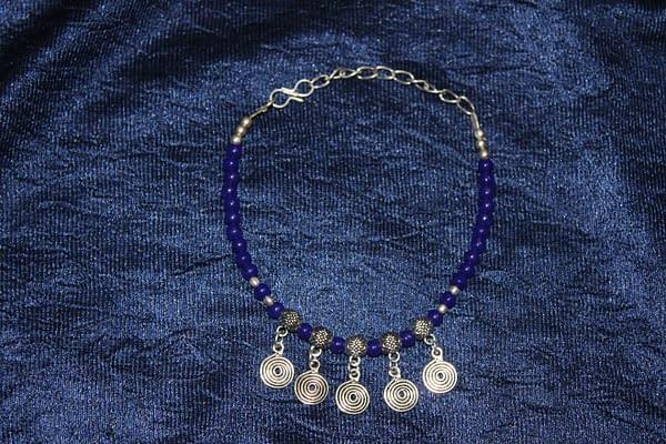Handmade Stone bracelet – Blue