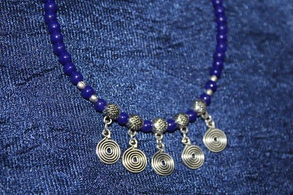 Handmade Stone bracelet – Blue 3