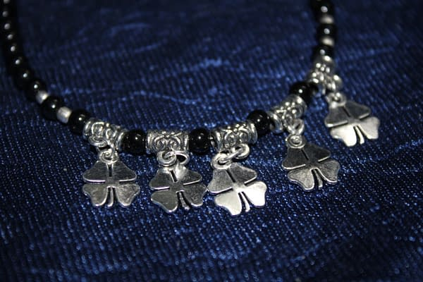 Handmade Stone Bracelet – Black 3