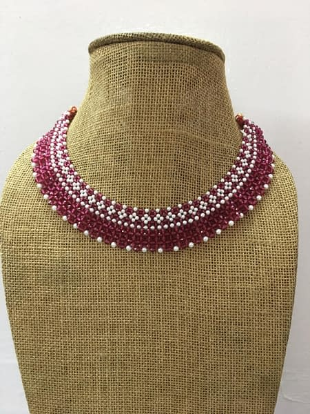 Handmade Moti Necklace