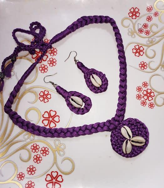 Handmade Crochet juellary set
