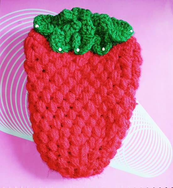 Handmade Red Pouch 3