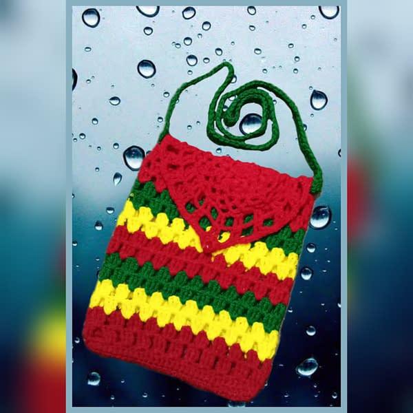 Handmade Crochet sling bag