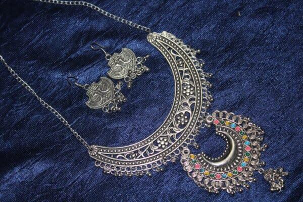 Handmade Affgani Necklace set