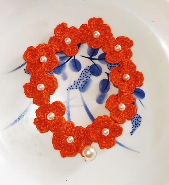 Handmade Crochet bracelet