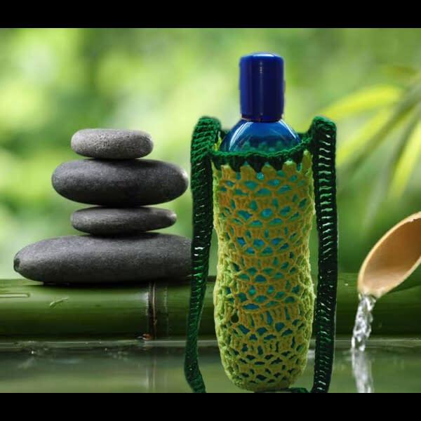 Handmade Crochet water bottle bag