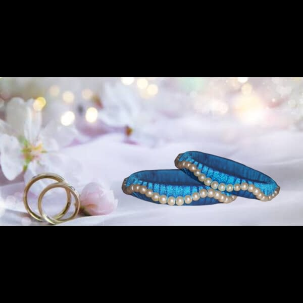 Handmade Blue Bangle