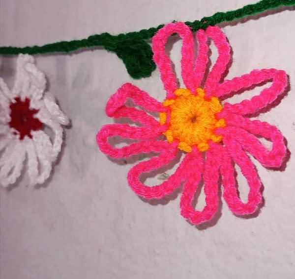 Handmade Crochet toran 3