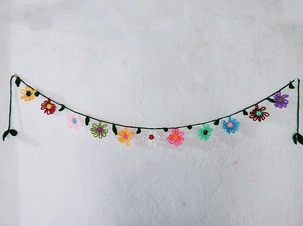 Handmade Crochet toran