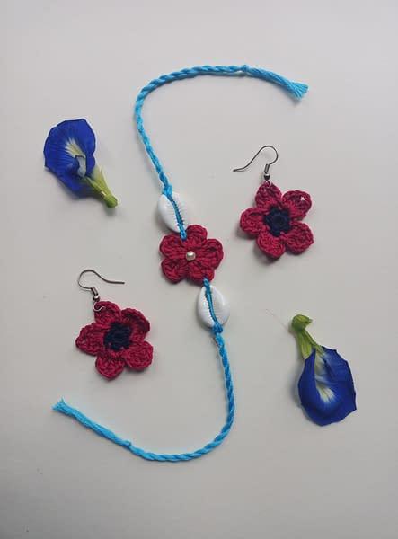 Handmade Crochet Rakhi-6