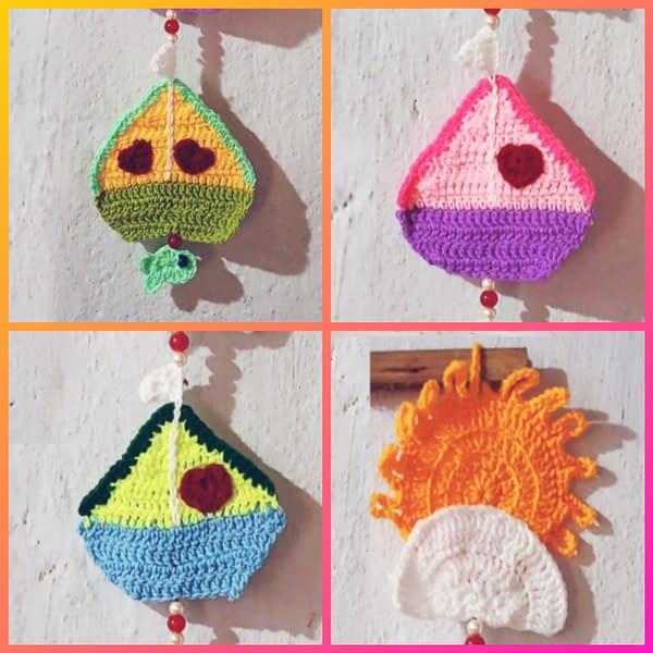 Handmade Crochet Wall hanging 3