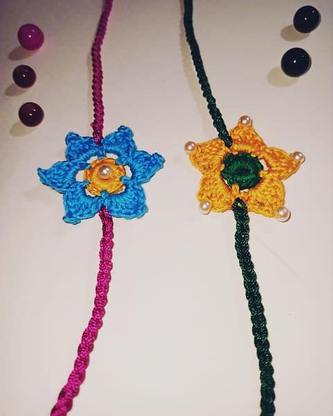 Handmade Crochet Rakhi-1 3