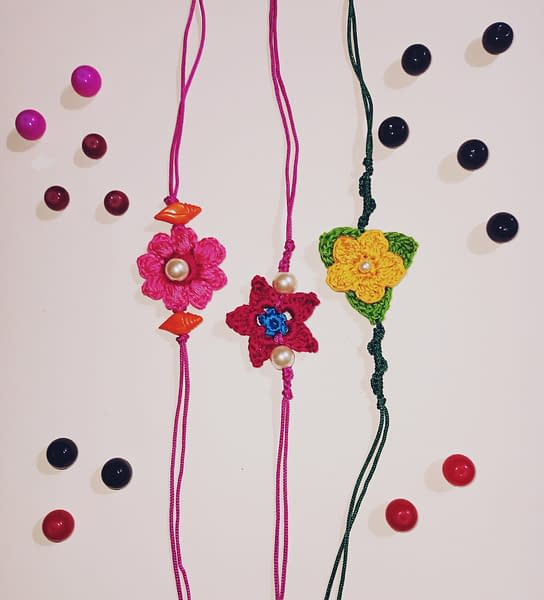 Handmade Crochet Rakhi-2