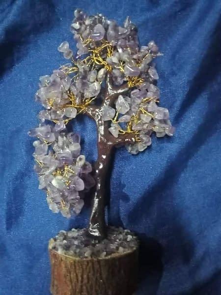 Handmade Amethyst chips tree