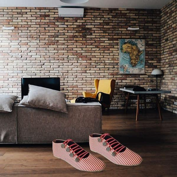 Handmade Pink Casual handmade shoes