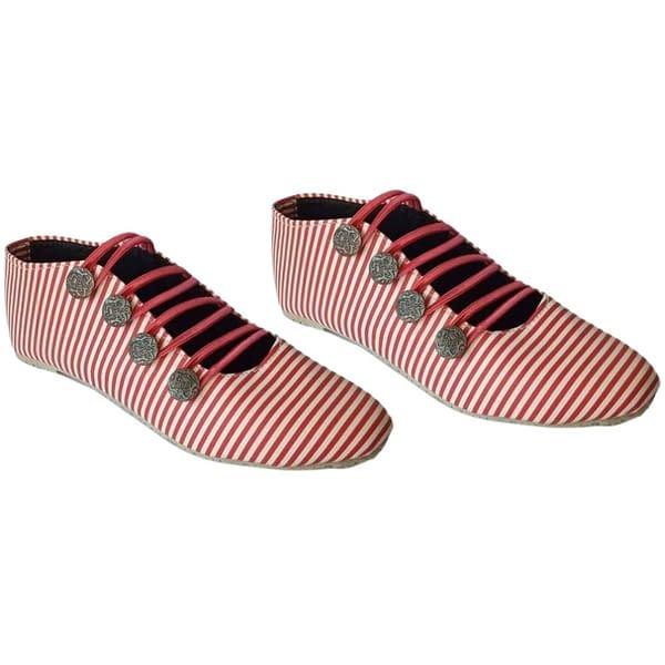 Handmade Pink Casual handmade shoes 3