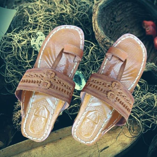 Handmade Handmade leather Chappal Brown