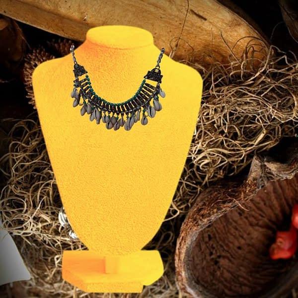 Handmade Green Vintage Necklace