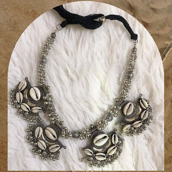Handmade Oxidised – Kaudi Necklace