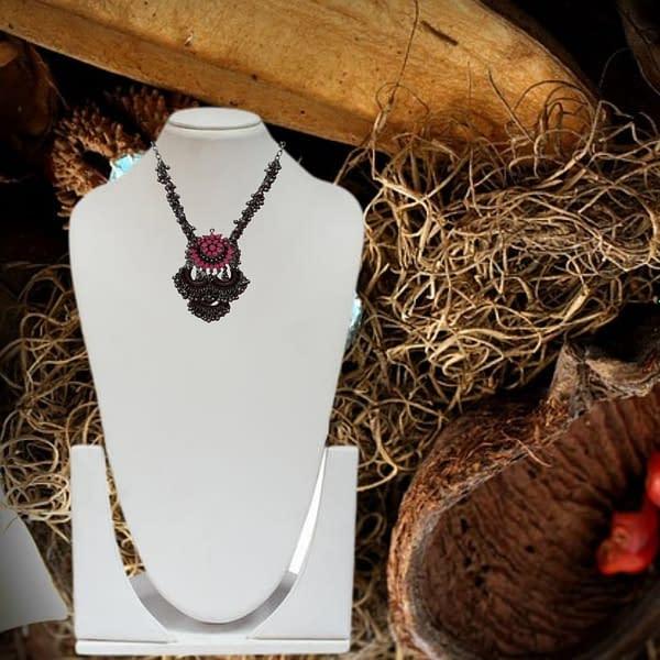 Handmade Tribal Look Necklace
