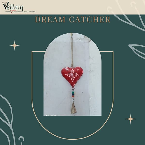 Handmade Red Heart Chime (Set of 3)