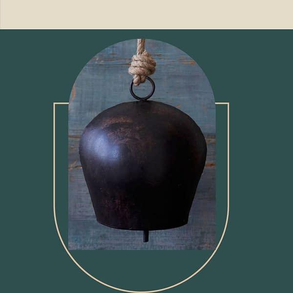 Handmade Black Sphere Bell