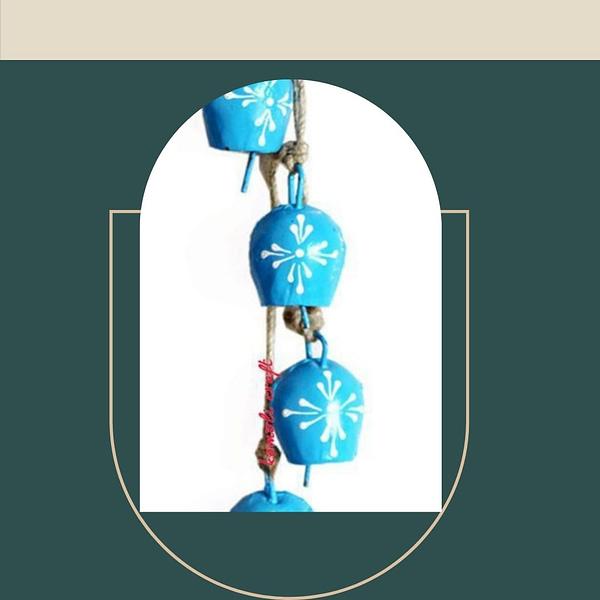 Handmade Blue Bells (Set of 4)