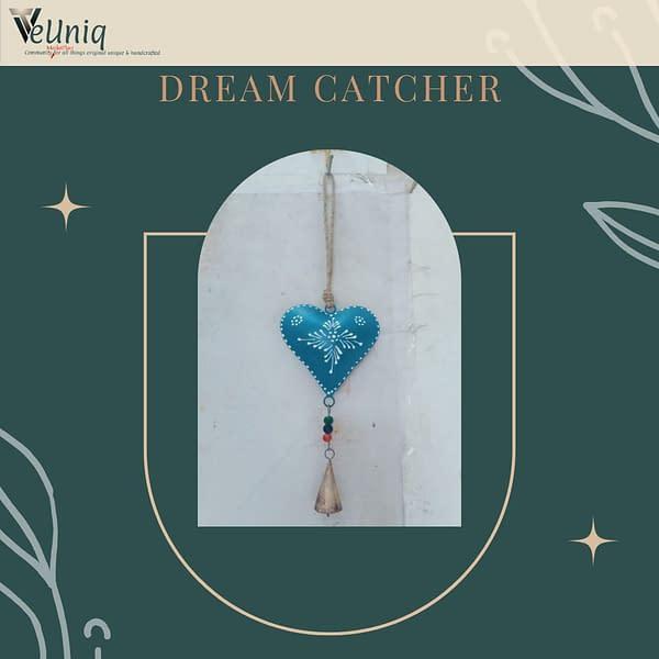 Handmade Blue Heart Chime (Set of 3)