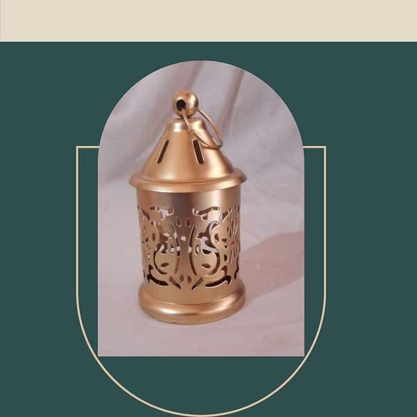 Handmade Brass Lamp (Set of 2)