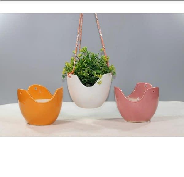Handmade Handmade ceremic Planters (Set of 3)