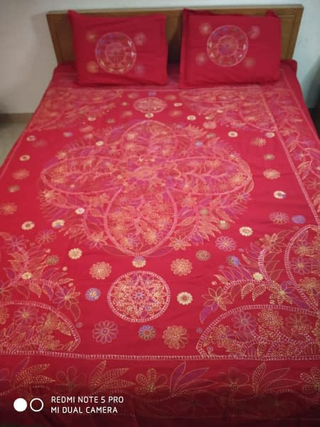 Handmade Handmade Nokshi Bedsheets