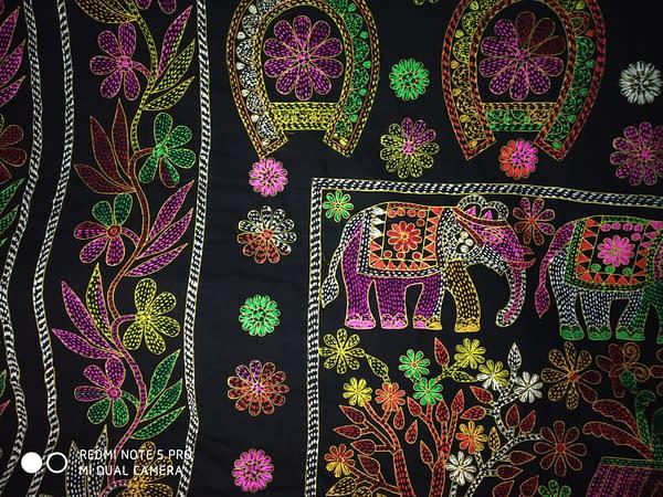 Handmade Nokshi Katha Black 3