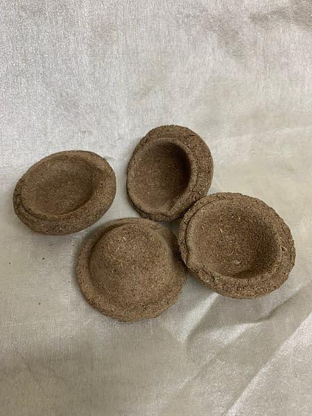 Handmade Cow dung diyas