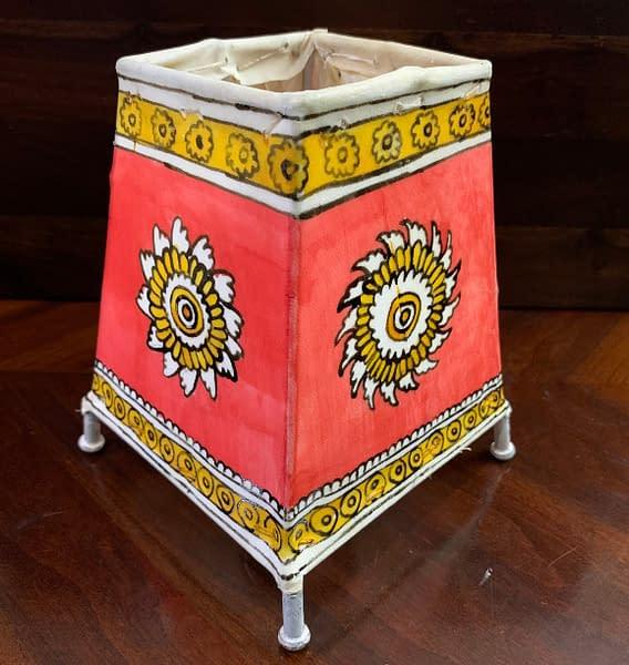Handmade Tholu Bommalata Lamp