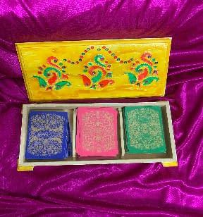 Handmade Playing cards box