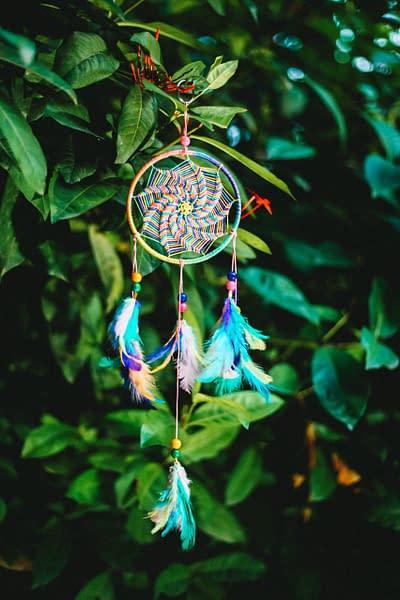 Handmade Multicolor Dream Catcher