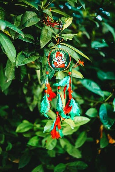 Handmade Ganesha Dream Catcher