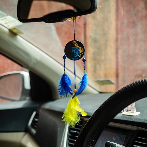 Handmade Shiva Dream catcher Blue