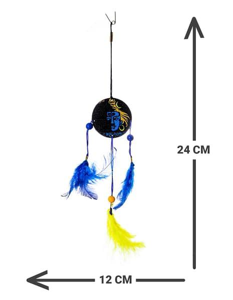 Handmade Shiva Dream catcher Blue 3