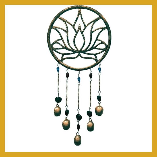Handmade Lotus Chimes 3