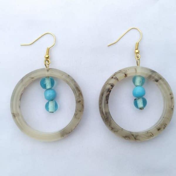Handmade Resin Earring Sets (5pairs) 3