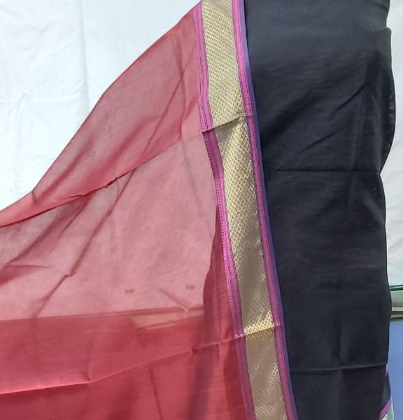 Handmade Chanderi Suit Pc