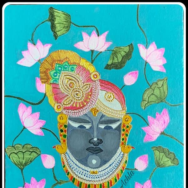 Handmade Lord Srinathji